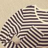 無印良品の オーガニックコットンクルーネック長袖Tシャツ